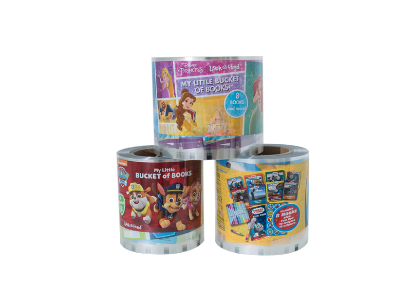 Cartoon heat transfer film